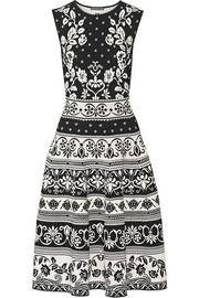 Alexander McQueen Stretch jacquard-knit dress