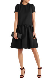 Alexander McQueen Drop-waist wool-blend scuba dress
