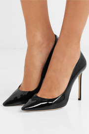 Jimmy Choo Romy patent-leather pumps