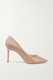 Jimmy Choo Romy 85 patent-leather pumps
