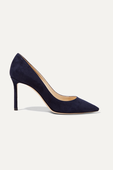 Jimmy choo Pumps Romy 85 suede Outlet Best Store To Get Discount From China Cheap Sale Collections Discount Shop For amJFkIU