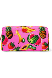 Printed shell cosmetics case