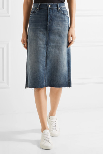 Mother | Stretch-denim skirt | NET-A-PORTER.COM
