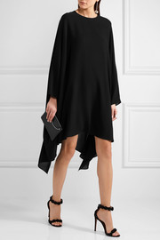 Valentino Silk-georgette mini dress