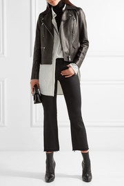 Karl Lagerfeld Ikonik Odina leather biker jacket