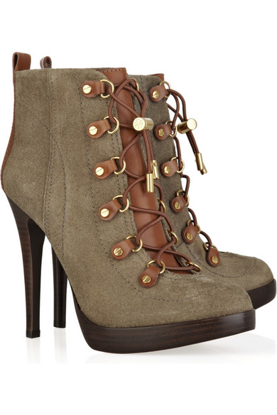 wide range of sale online Tory Burch Lace-Up Wedge Boots lowest price for sale latest collections sale online sale cost clearance wide range of dRXWA4e