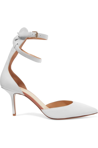 Francesco Russo Leather d'Orsay Pumps cheap sale with credit card ONOfXgR
