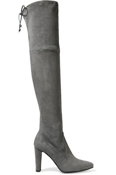 Stuart Weitzman highstreet over the knee suede boots