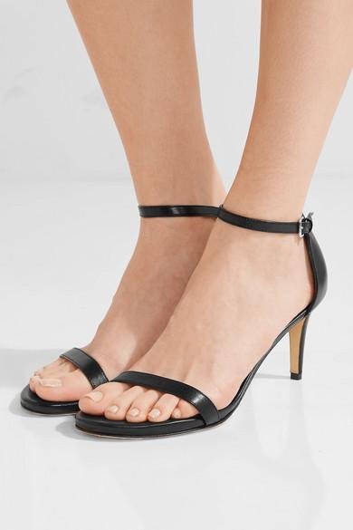 3bd9813cd20d Stuart Weitzman. Nunaked leather sandals