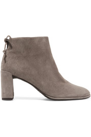Lofty suede ankle boots
