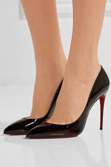 half off 4aefd 40695 Christian Louboutin | Pigalle Follies 100 patent-leather ...