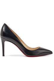 Pigalle 85 leather pumps