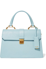 Miu Miu Textured-leather tote