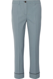 Miu Miu Stretch-wool straight-leg pants