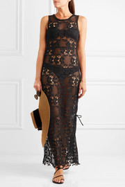 Melissa Odabash Jamie lace maxi dress