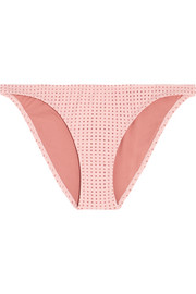 Melissa Odabash Aruba perforated bikini briefs