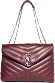 Saint Laurent Slouchy Monogramme medium quilted leather shoulder bag
