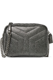 Saint Laurent Loulou metallic quilted leather shoulder bag