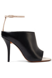 Givenchy Matte and patent-leather sandals