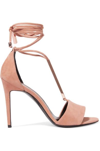 Pierre Hardy Designer Shoes, Blondie Suede Sandal