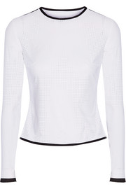 Marlen perforated rash guard