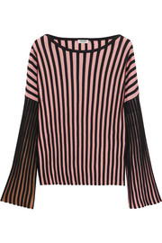 KENZO Ribbed stretch-knit top