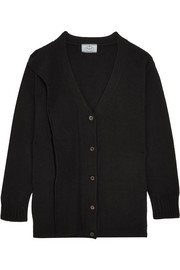 Prada Draped wool and cashmere-blend cardigan