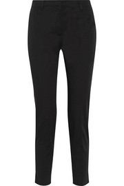 Prada Stretch-cotton gabardine slim-leg pants