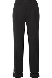 Prada Wool straight-leg pants