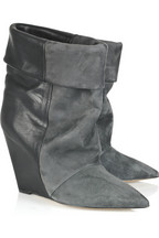 Isabel Marant Amely suede and leather ankle boots