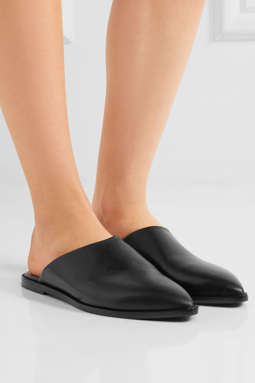 ATP Atelier Anzi leather slippers