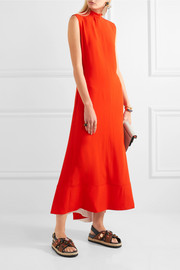 Marni Open-back crepe maxi dress