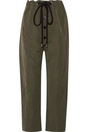 Marni Cotton and linen-blend gabardine tapered pants