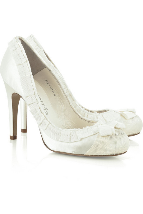 Белые туфли фото 5