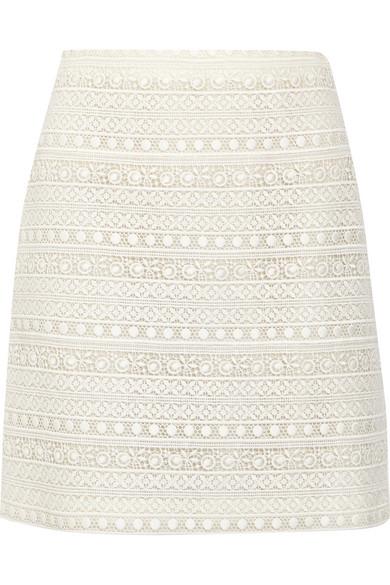Giambattista Valli - Cotton-blend Lace Skirt - Ivory