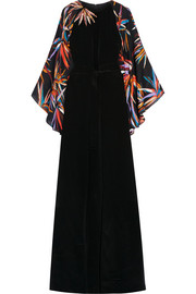 Emilio Pucci Embellished silk gown