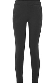 NikeLab Essentials French stretch-cotton terry leggings
