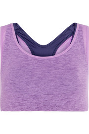 NikeLab Essentials layered stretch-jersey sports bra