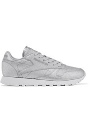 Reebok Classic metallic leather sneakers