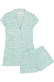 Olivia polka-dot cotton pajama set