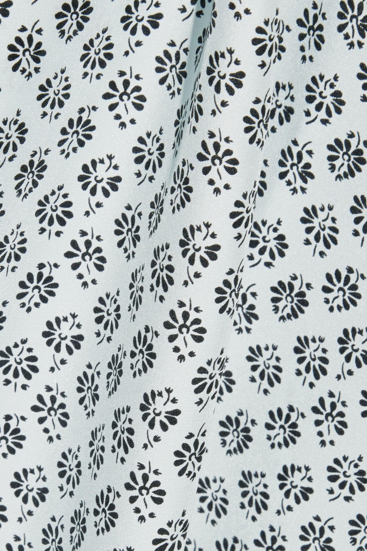 Three J NYC Sienna printed silk-satin pajama set