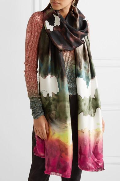 Vapa silk scarf Acne Studios Ge5yDmbb