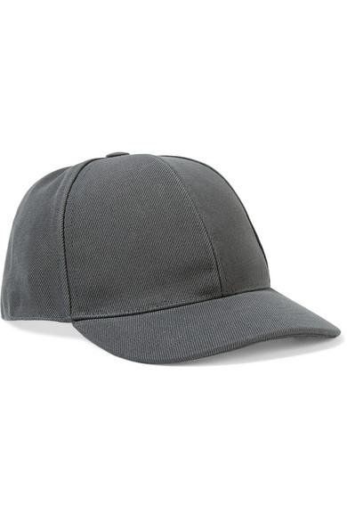 Acne Studios - Camp Cotton-twill Baseball Cap - Gray