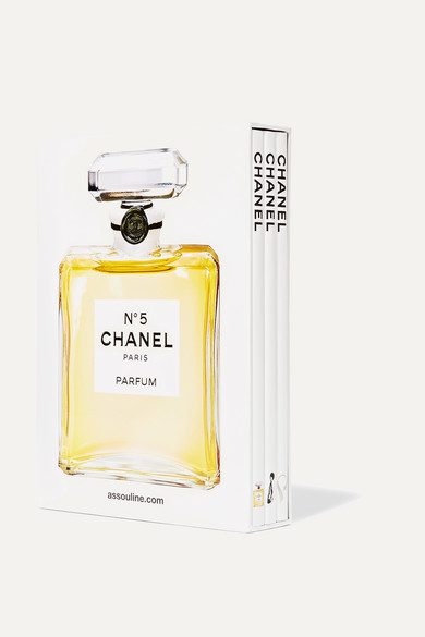 ASSOULINE Set Of Three Hardcover Books: Chanel in White