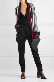 Haider Ackermann Striped wool and cashmere-blend cardigan