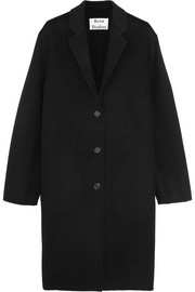 Avalon Doublé oversized wool and cashmere-blend coat