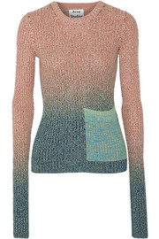 Acne Studios Rasha dégradé ribbed cotton-blend sweater