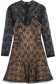 Alexander Wang Studded lace mini dress