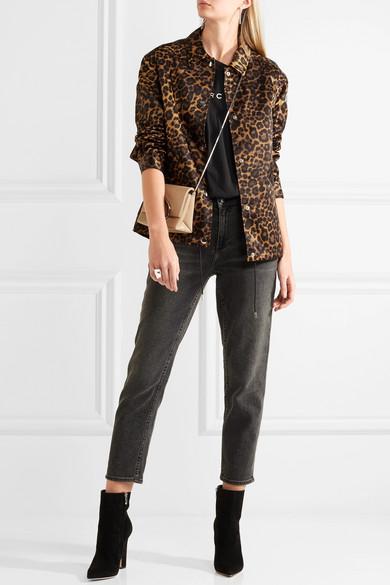 046d3e268465 Alexander Wang | Leopard-print shell jacket | NET-A-PORTER.COM