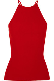 Alexander Wang Cutout stretch-knit top